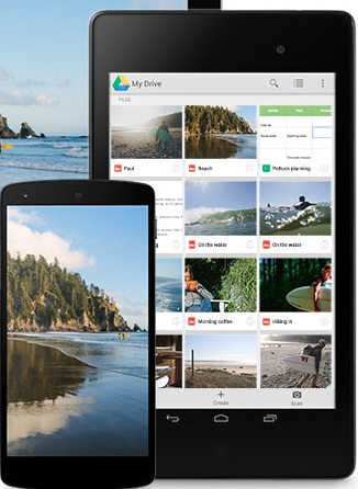 Google Drive - Mobile Apps For Bloggers