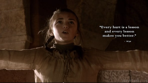 Lessons Bloggers Can Learn From Game Of Thrones - Arya Stark