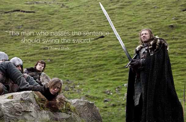 Lessons Bloggers Can Learn From Game Of Thrones - Ned Stark