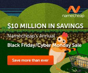 NameCheap Sale