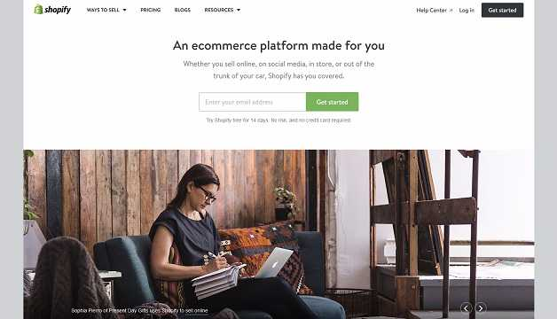 best e commerce website builders - Shopify