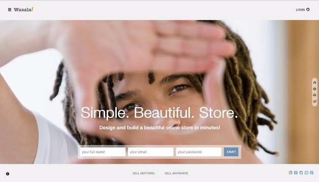 best e commerce website builders - Wazala